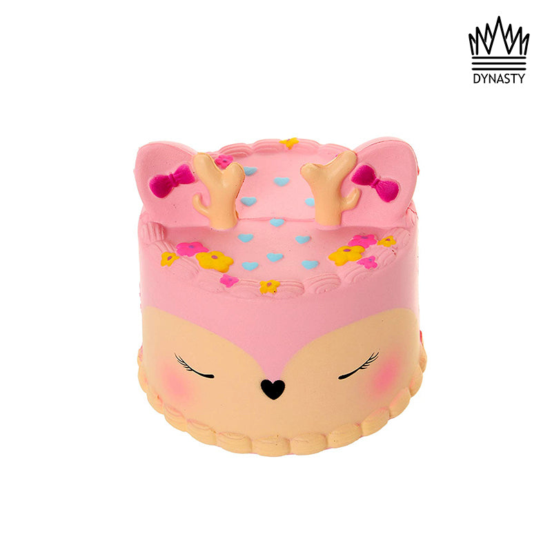 Flash Sale - Pink Deer Cake Squishy Toy