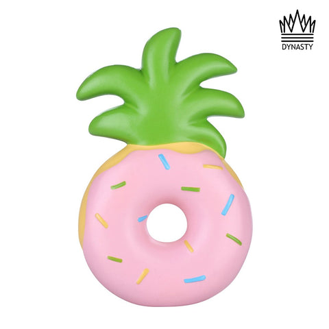 Flash Sale - Pink Pineapple Donut Squishy Toy