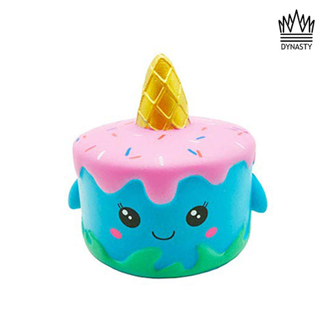 Flash Sale - Scented Pink and Blue Unicorn Cake Squishy Toy