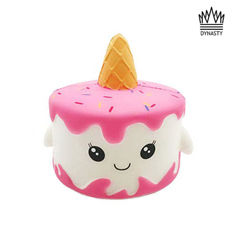 Flash Sale - Scented Pink and White Unicorn Cake Squishy Toy
