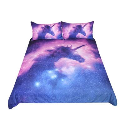 Unicorn Bedding Set Cover 3 Pieces