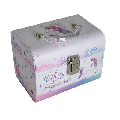 Unicorn Magic Collection Set of 2 Carry Cases Unicorn Design