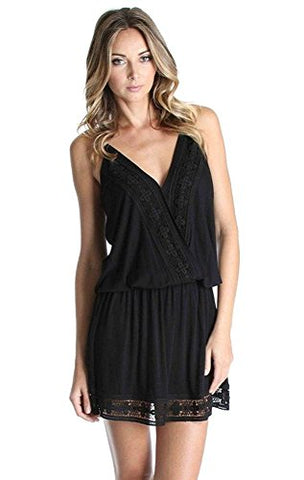 BERNICE SLEEVELESS DRESS (BLACK)-VD9842