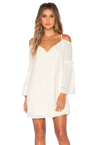 VAVA by Joy Han Women's JAYNE DRESS (WHITE)-VD1182