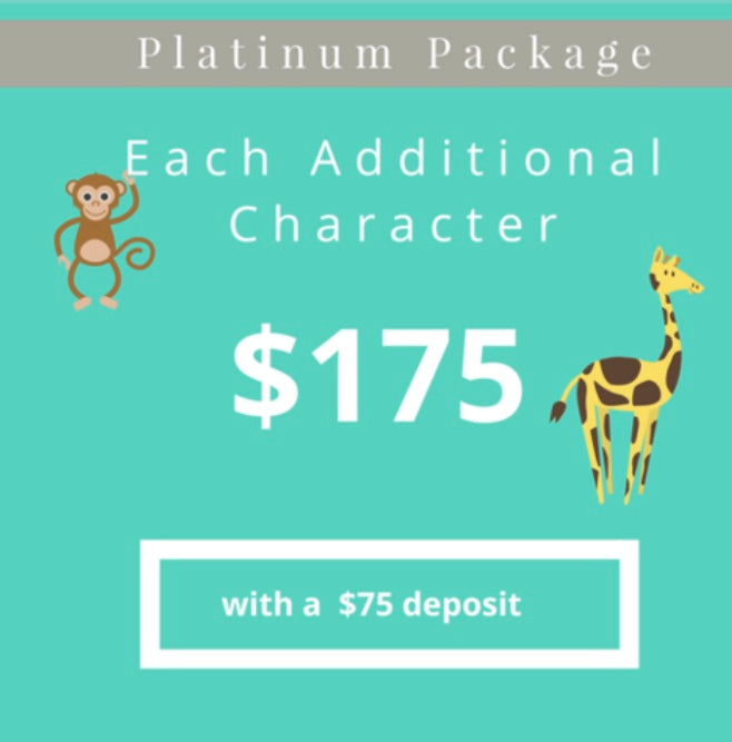 Additional Character Platinum | Silver