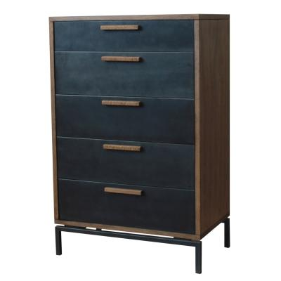 Bellevue Wood 5 Drawer Dresser - City Home - Portland Oregon - Furniture and Home Decor