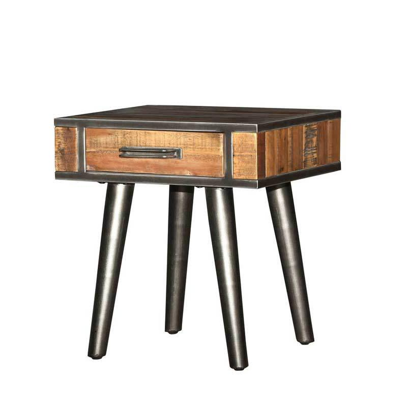 Vintage Style End Table - City Home - Portland Oregon - Furniture and Home Decor
