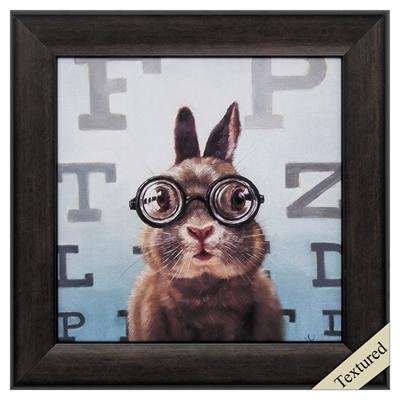 "Framed Animal Wall Art ""Four Eyes"" - City Home - Portland Oregon - Furniture and Home Decor"