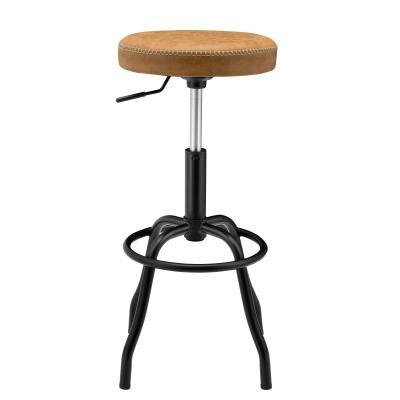 Vintage Cedar Eaton Barstool with Gas Lift
