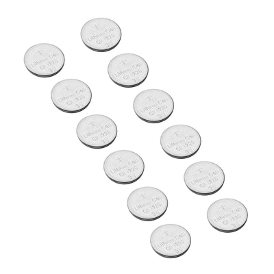 12 Pack CR1220 Battery 40 mAH 3 Volt Lithium Battery Coin Button Cell - BULK PACK