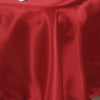 "60x126"" Wine Satin Rectangular Tablecloth"