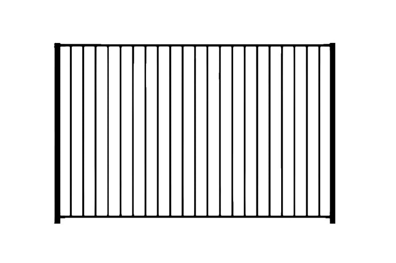 Pool Fencing - Standard Style - Red Stag Gates & Fences
