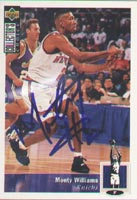 Monty Williams New York Knicks 1994 Upper Deck Autographed Card - Rookie Card. This item comes with a certificate of authenticity from Autograph-Sports. PSM-Powers Sports Memorabilia