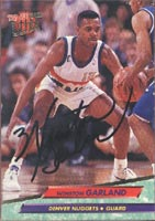 Winston Garland Denver Nuggets 1993 Fleer Ultra Autographed Card. This item comes with a certificate of authenticity from Autograph-Sports. PSM-Powers Sports Memorabilia