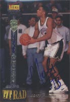 Monty Williams Notre Dame Fighting Irish - New York Knicks 1994 Signature Rookies TETRAD Certified Autographed Card - Certified Autograph - Rookie Card. This item comes with a certificate of authenticity from Autograph-Sports. PSM-Powers Sports Memorabilia