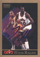 Wayne Rollins Cleveland Cavaliers 1990 Skybox Autographed Card - Nice Card. This item comes with a certificate of authenticity from Autograph-Sports. PSM-Powers Sports Memorabilia