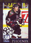 Brad Isbister Phoenix Coyotes 1998 Donruss Elite Autographed Card. This item comes with a certificate of authenticity from Autograph-Sports. PSM-Powers Sports Memorabilia