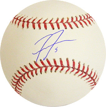 Freddie Freeman signed Rawlings Official Major League Baseball #5- JSA Hologram (Atlanta Braves) PSM-Powers Sports Memorabilia