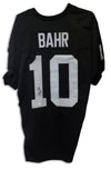 Chris Bahr Los Angeles Raiders Autographed Black Jersey PSM-Powers Sports Memorabilia