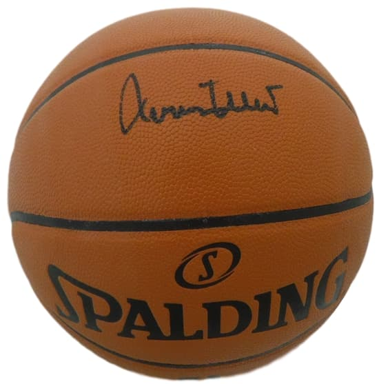 Jerry West Autographed Los Angeles Lakers Spalding Basketball (I/O) JSA PSM-Powers Sports Memorabilia