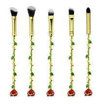 Beauty and The Beast Inspired - Enchanted Rose Makeup Brush Set