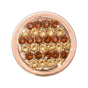 Fashion Gold Rose Gold Plate 23mm Coin