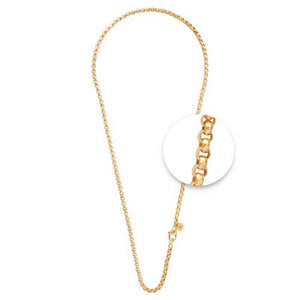 Gold Plated Necklet 3mm x 60cm