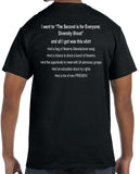 2A4E The 2nd Is For Everyone: Diversity Shoot Limited Edition Promotional Tee