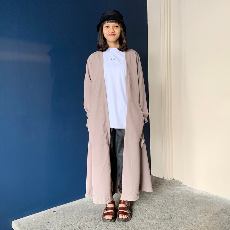 Mato Long Cardi Khaki - Locale Woman