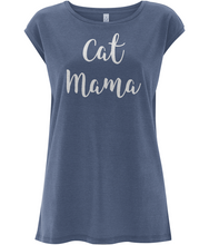 Women's Loose Fit Sleeveless Top - CAT MAMA
