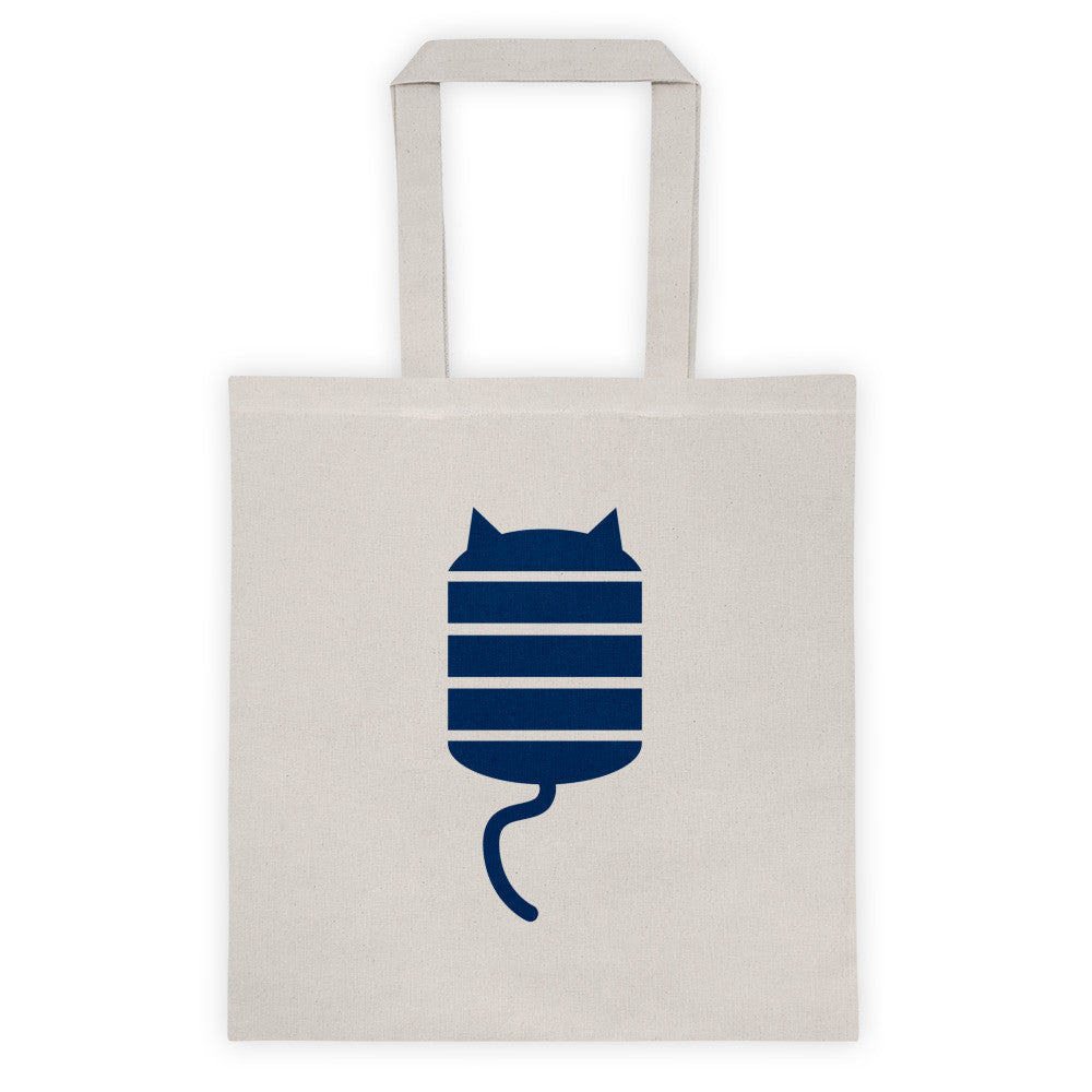 STRIPE CAT Tote bag