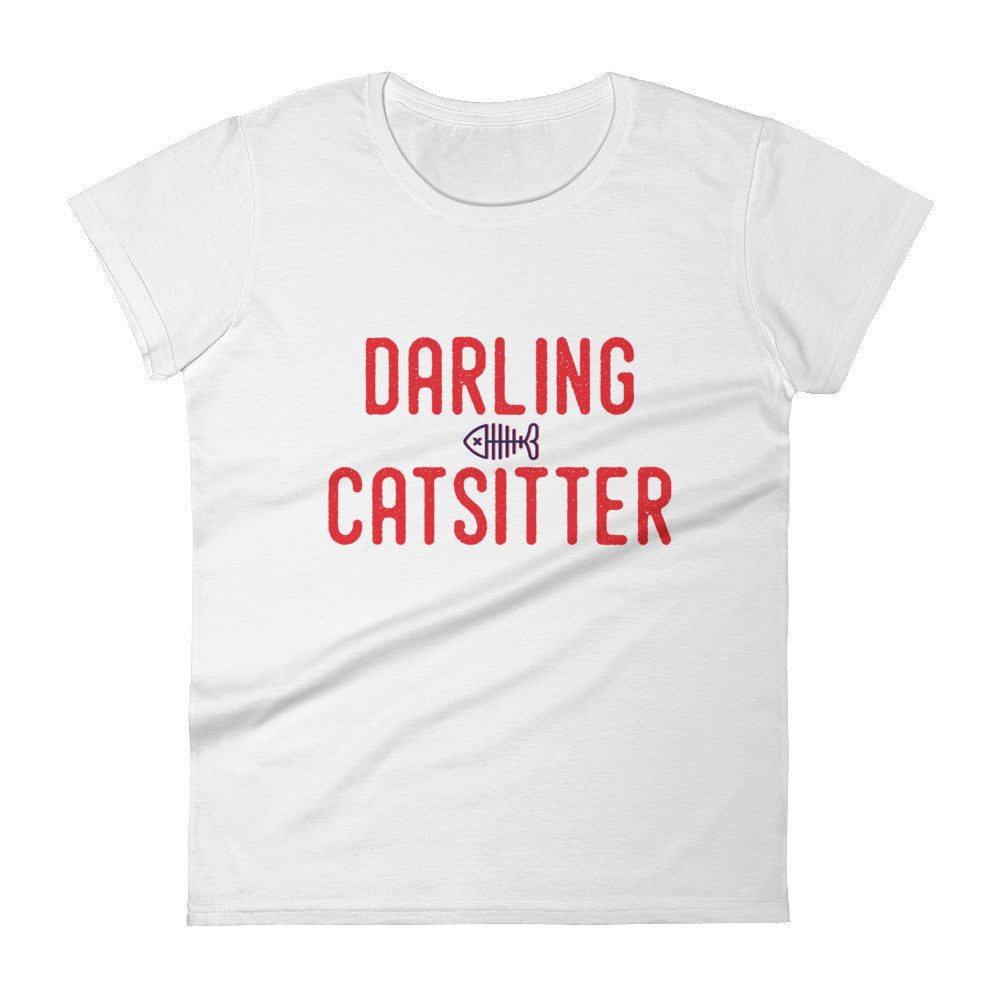 DARLING CATSITTER IV Women's short sleeve t-shirt