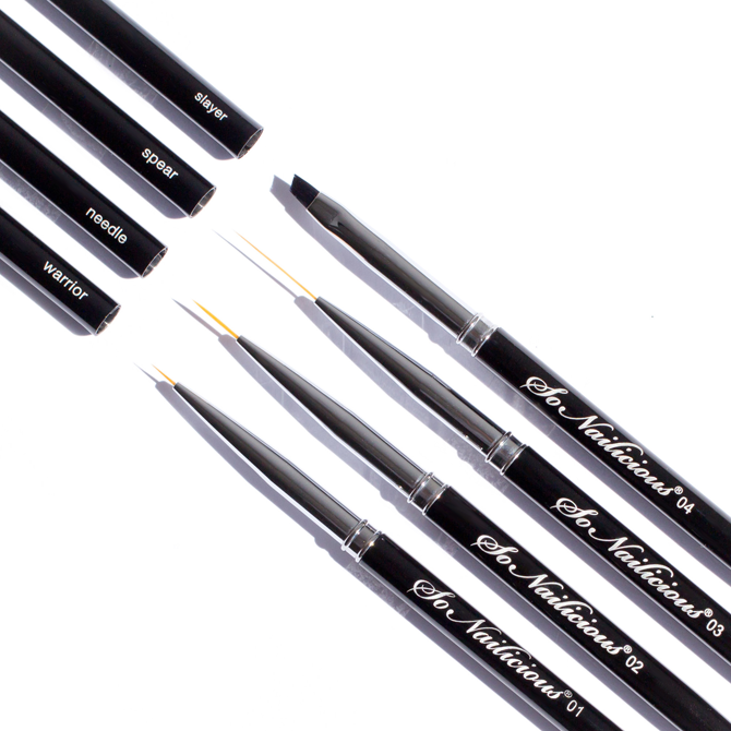 The best nail art brushes