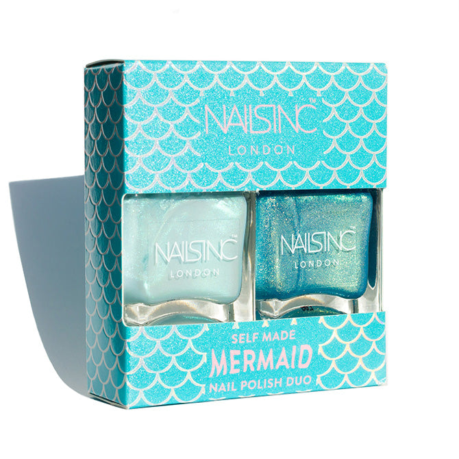 Nails inc Self Made Mermaid nail polish duo