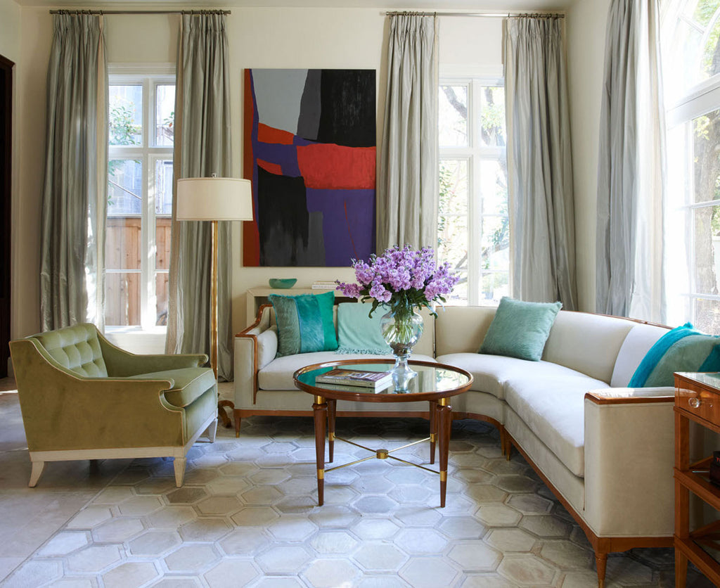 Interior Design Installation by Jan Showers & Associates | Moonglow Rug