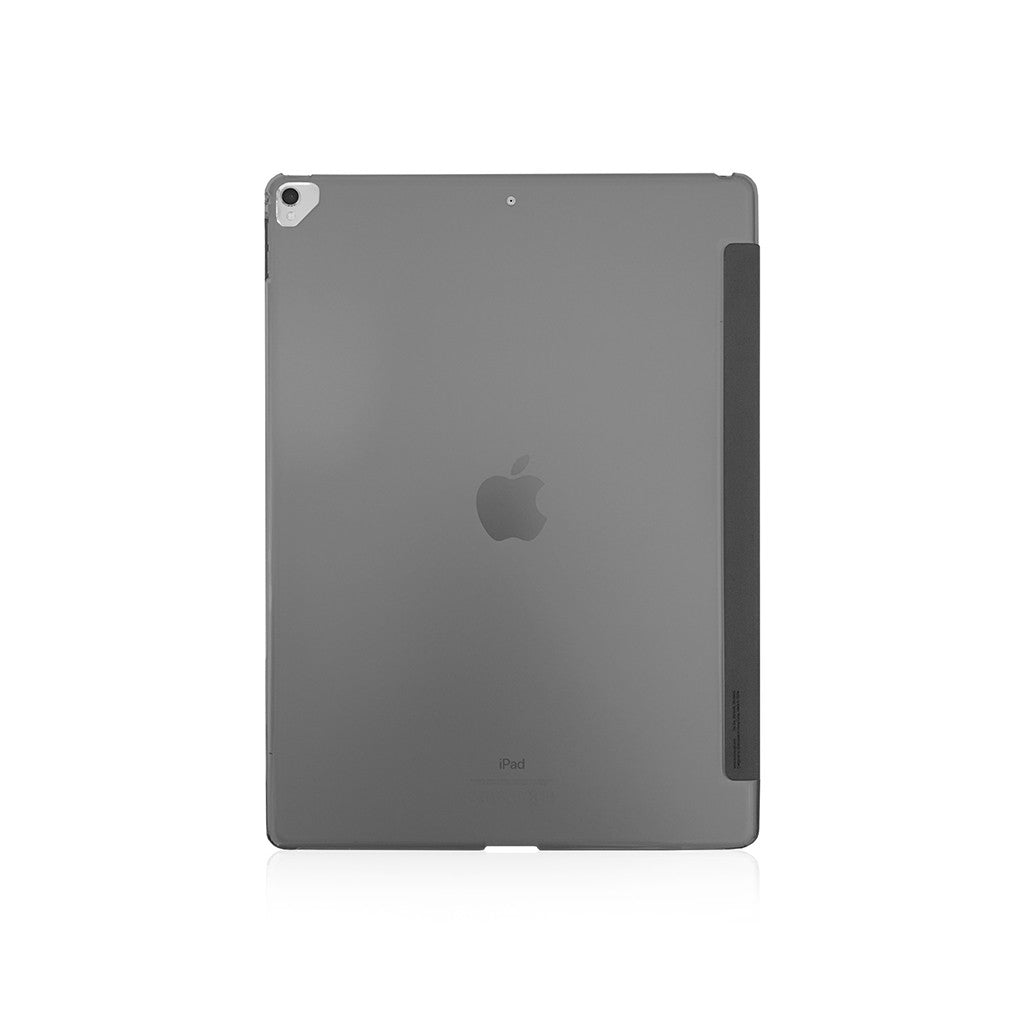 "LUCID FOLIO | Ultra Slim Hard Flip Case for iPad Pro 12.9"" w/ Auto On-Off (2017) - Charcoal"