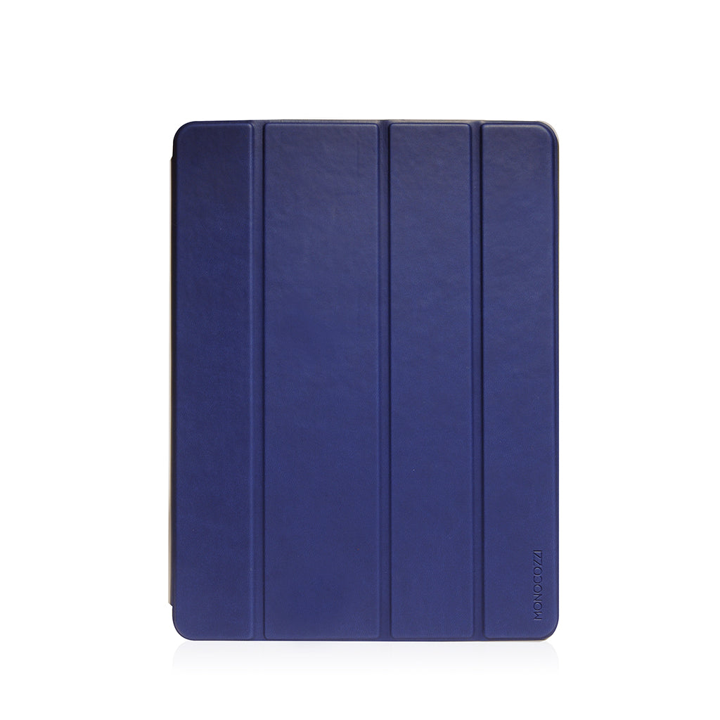 "Lucid Plus Folio | Shock Resistant Folio Case with Apple Pencil Slot for iPad Air (2019)10.5"" - Navy"
