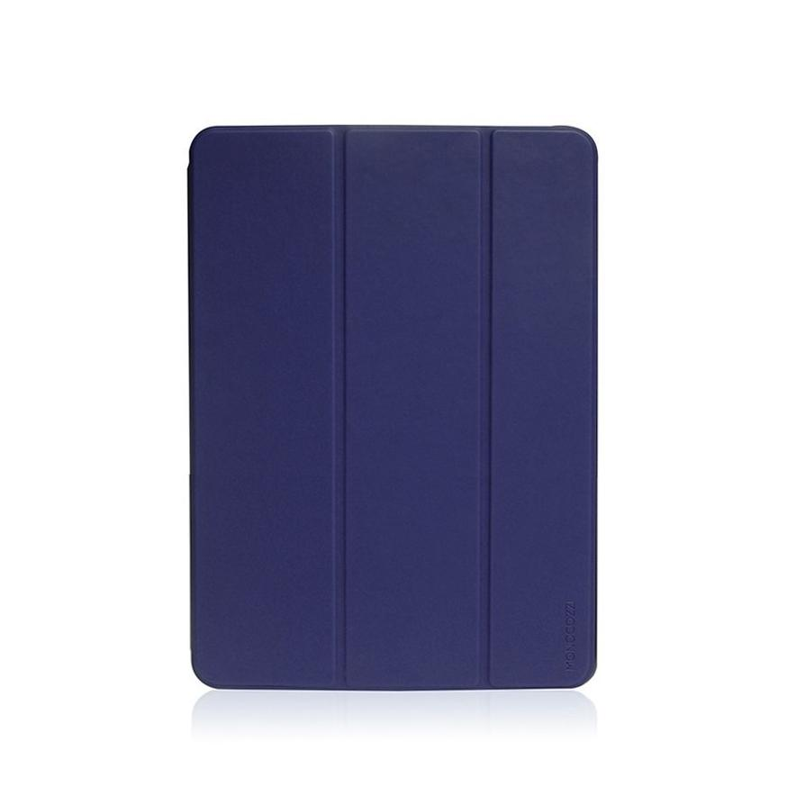 LUCID FOLIO |  Ultra Slim Hard Flip Case for iPad Pro 11-inch (2018) w/ Auto On-Off  - Navy Blue