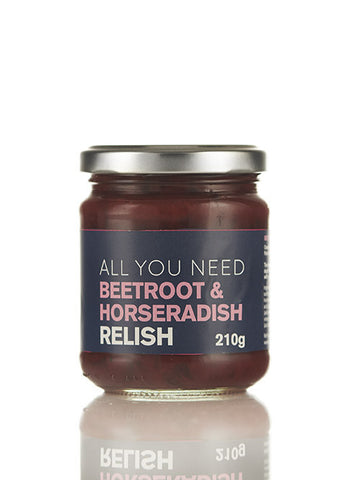 Beetroot and Horseradish Relish
