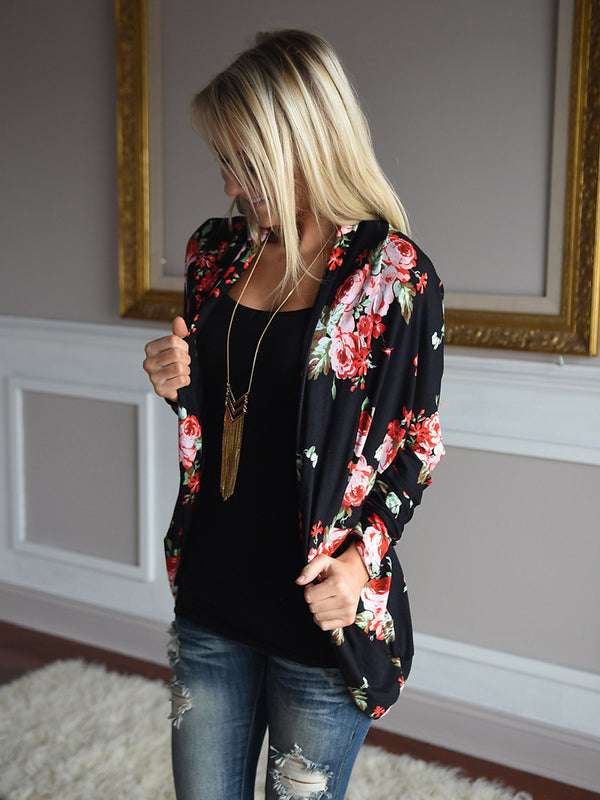 Love Letter Rose Print Blouse