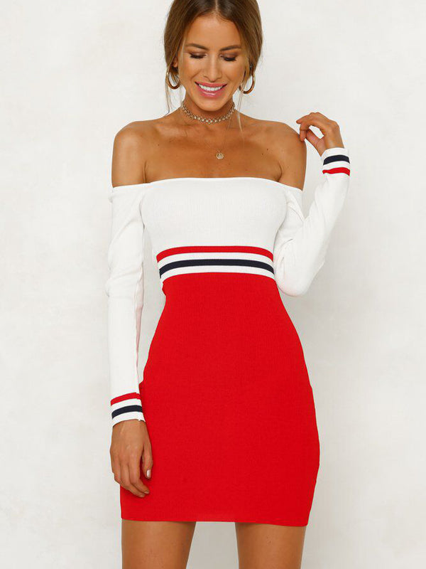 Carlyn Off-The-Shoulder Bodycon Dress
