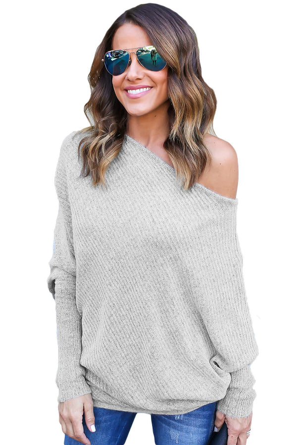 Complete Me Off Shoulder Pullover