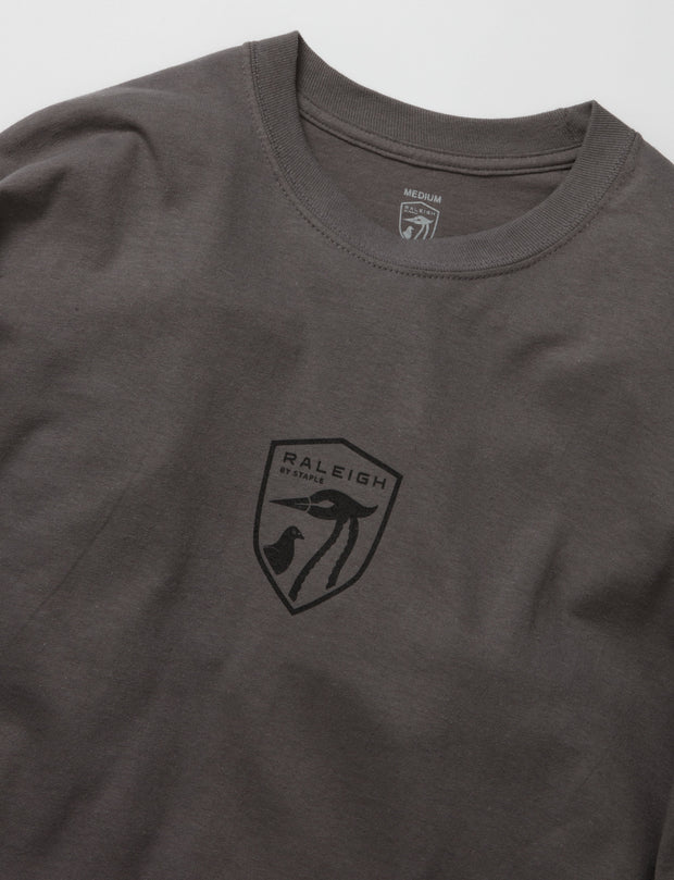 Staple Pigeon Raleigh raleigh long sleeve 1905c10138 gry tees grey TheDrop
