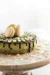 High Protein Matcha Cheesecake