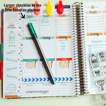 Check It Off Planner Stamp Set - 4x6
