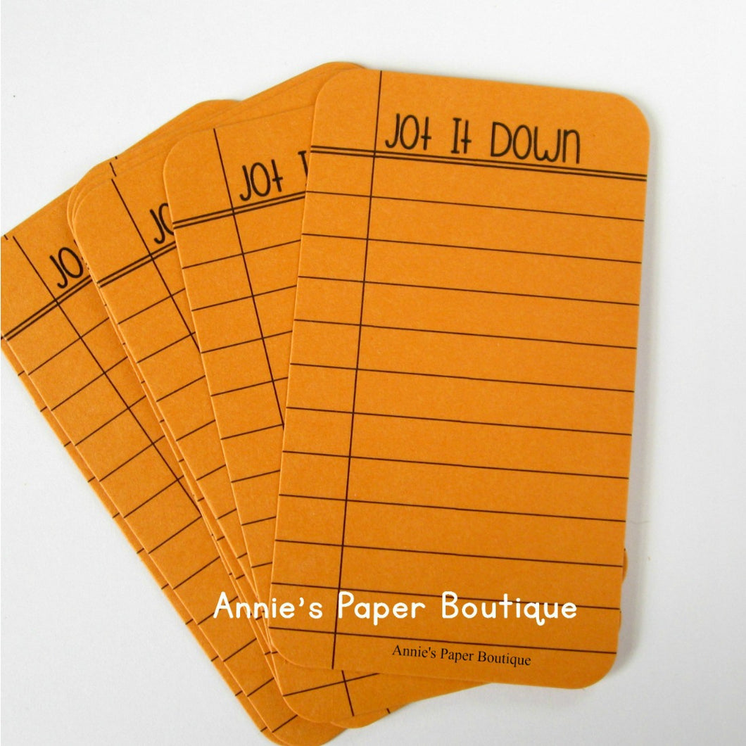 Jot It Down - Journaling Cards