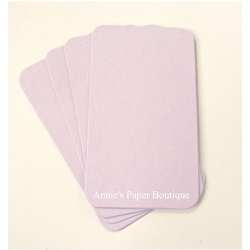 Lavender Purple Mini Flat Cards