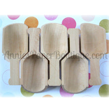 Mini Wooden Scoops
