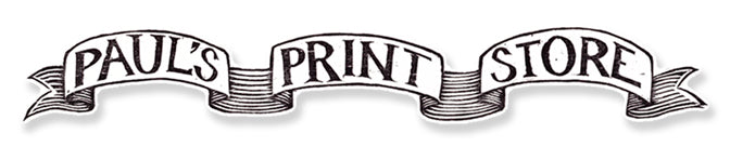 Paul's Print Store - Color Woodcut Art Prints