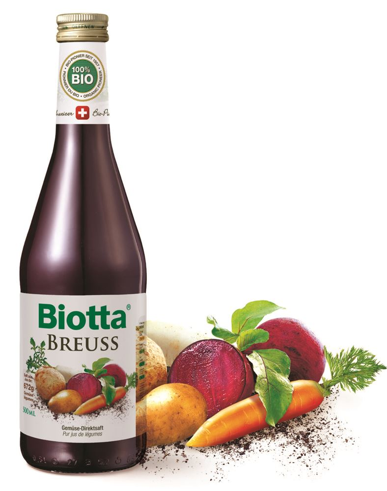 Biotta Breuss Organic Vegetable Juice 500ml